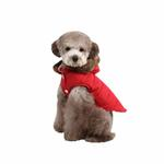 View Image 2 of Cody Hood Dog Vest by Puppia - Red