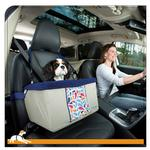 View Image 1 of Color Splash Dog Booster Seat by Kurgo