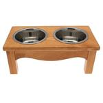View Image 1 of Country Style Dog Diner - Honey Pine