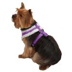 View Image 3 of Cozy Sherpa Dog Harness by East Side Collection - Ultra Violet