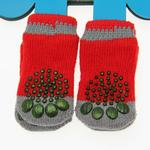 View Image 2 of Crossbones Soxy Paws Dog Socks
