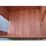 View Image 4 of Crown Pet Cedar Dog House with Classic Roof