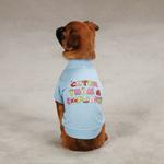 View Image 2 of Cuter Than a Cupcake Dog T-Shirt - Blue