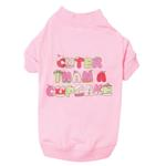 View Image 1 of Cuter Than a Cupcake Dog T-Shirt - Pink