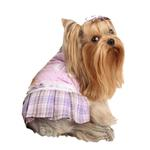 View Image 1 of Dainty Dog Dress by Pinkaholic - Violet