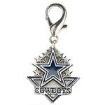 View Image 1 of Dallas Cowboys Pennant Dog Collar Charm