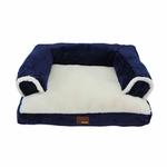 View Image 2 of Davenport Dog Bed by Puppia - Navy