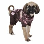 View Image 1 of Daydream Dog Jumpsuit by Pinkaholic - Brown