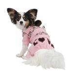 View Image 1 of Daydream Dog Jumpsuit by Pinkaholic - Pink