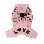 View Image 3 of Daydream Dog Jumpsuit by Pinkaholic - Pink