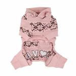 View Image 2 of Daydream Dog Jumpsuit by Pinkaholic - Pink