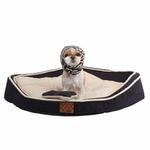 View Image 1 of Dazzle Dog Bed by Puppia - Navy