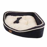 View Image 3 of Dazzle Dog Bed by Puppia - Navy
