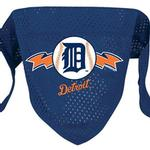 Detroit Tigers Mesh Dog Bandana