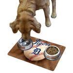 View Image 1 of Detroit Tigers Pet Bowl Mat