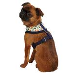 View Image 3 of Dino Dog Harness - Navy