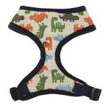View Image 2 of Dino Dog Harness - Navy