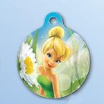 View Image 1 of Disney Tinker Bell QR Code Pet ID Tag