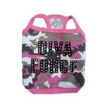 View Image 1 of Diva Force Camo Dog Tank Top
