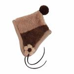 View Image 2 of Dodo Dog Hat by Puppia - Brown