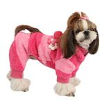 View Image 1 of Dodo Dog Jumpsuit by Puppia - Pink