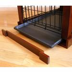 View Image 2 of Wood and Wire End Table Dog Cage