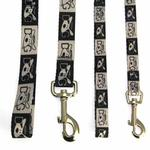 View Image 2 of Dog Is Good Halo Dog Leash - Black