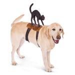 View Image 1 of Dog Riders Harness Halloween Costume - Cat