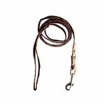 View Image 2 of Dog Story Dog Leash by Puppia - Wine