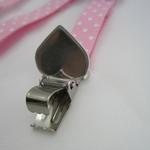 View Image 3 of Dog Suspenders - Pink Polka Dot