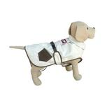 View Image 1 of Dogrich Hunter Cream & Brown Dog Coat