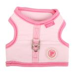 View Image 3 of Downy Pinka Dog Harness by Pinkaholic - Pink