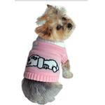 Dreaming Dog Sweater - Pink