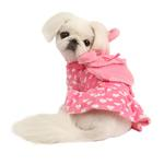 View Image 1 of Dreamy Hooded Dog Dress by Pinkaholic - Pink