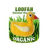 Duck Loofah Dental Dog Toy