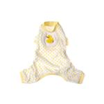 Ducky Design Dog Pajamas - Yellow