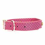 View Image 1 of Canine Charmers Dog Collar - Rose