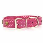 View Image 2 of Canine Charmers Dog Collar - Rose
