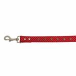 View Image 4 of Canine Charmers Dog Leash - Red Stars