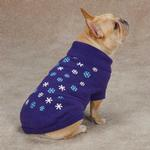 View Image 2 of Flurry Dog Sweater - Purple