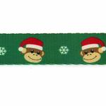 View Image 3 of Holiday Monkey Business Dog Leash - Ty