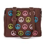 View Image 3 of East Side Collection Peace Sign Pet Carrier