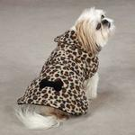 View Image 2 of East Side Collection Posh Fleece Dog Jacket - Leopard