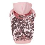 View Image 2 of Sequin Dog Pullover - Pink