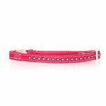 View Image 1 of Sparkle Gemstone Cat Collar - Raspberry