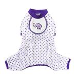 Elephant Dog Pajamas - Purple