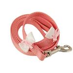 View Image 1 of Embellished Breast Cancer Ribbon Dog Leash