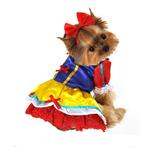 View Image 1 of Enchanted Snow Princess Dog Costume