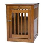 View Image 2 of End Table Dog Crate - Artisan Bronze