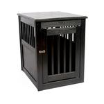 View Image 7 of End Table Dog Crate - Black